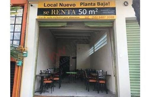 Renta Local Comercial **exclusivo Alimentos**