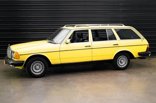 1983 Mercedes-benz 300td Turbodiesel W123