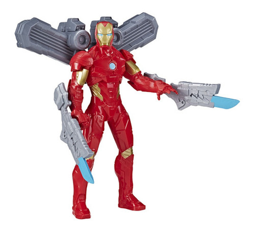 Boneco Homem De Ferro C/ Acessórios Olympus 7360 - Hasbro