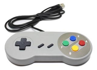 Control Super Nintendo Usb Para Computador Pc Y Mac