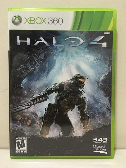 Halo 4 Microsoft Xbox 360 X360 Americano Novo Lacrado