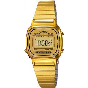 Relógio Casio Vintage Dourado Ref: 5.656
