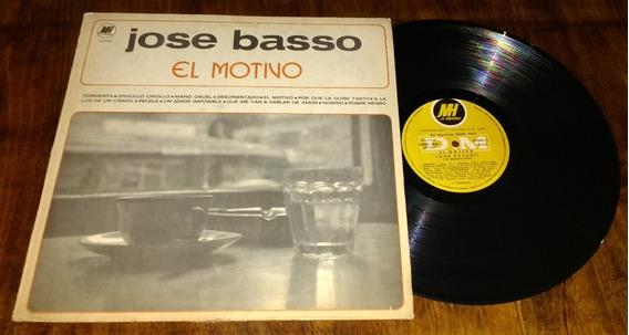 Jose Basso El Motivo Disco Vinilo Lp
