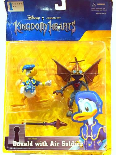 Disney Figura Kingdom Hearts Donald Y Air Soldier (nuevo)
