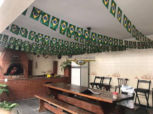 Imagem 1 de 14 de Sobrado Com 3 Dormitórios À Venda, 200 M² Por R$ 1.800.000,00 - Jardim Vila Formosa - São Paulo/sp - So1258