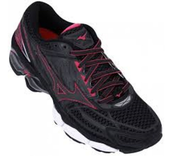 Tênis Mizuno Wave Creation 19 Feminino Preto/rs 4139265-5042