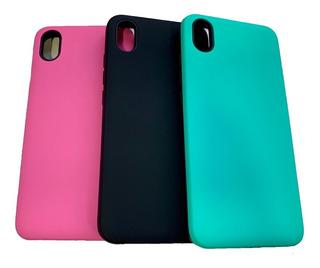 Funda Alto Impacto Colores Xiaomi Redmi 7a + Vidrio Templado
