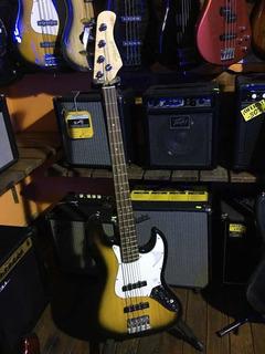 Bajo Electrico Texas E81 4 Cuerdas Tipo Jazz Bass