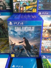 Jogo Final Fantasy Xv Ps4 Midia Fisica Original Barato