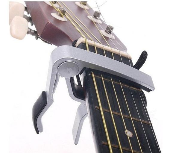 Capotraste Capo Braçadeira Violão Guitarra Viola Baixo Top