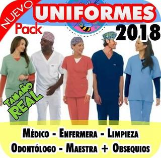 Patrones Imprimibles Para Uniformes De Medicos Y Enfermeras