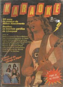 Editora Tres Karaoke 02 Ultraje A Rigor Roger Moreira