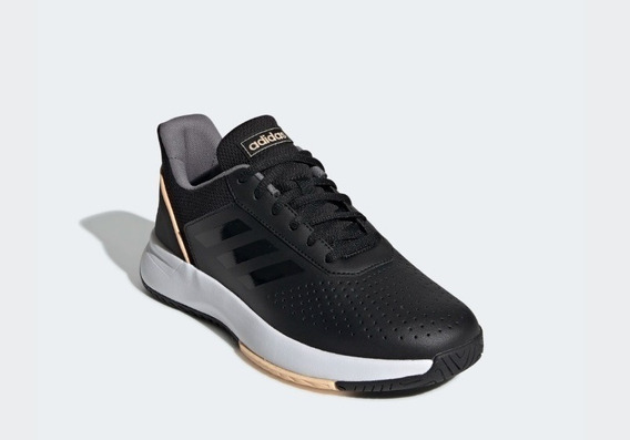 Tênis adidas Court Smash Feminino Preto