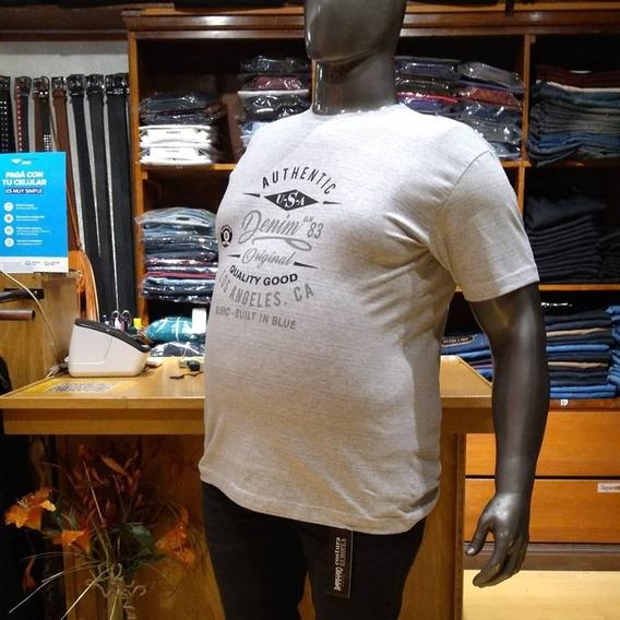 Pack X 3 Remeras Hombre Talles Grandes - 6 Al 16