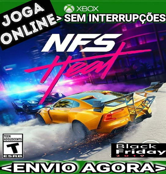 Need For Speed Heat Xbox One Joga Online Mídia Digital