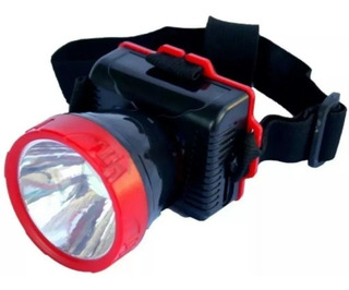 Linterna Led Recargable Cabeza Al Mayor ($5)laschimeneas