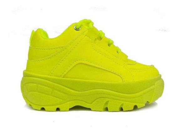 Combo 2 Tênis Buffalo Sneaker Vicerinne Plataforma Feminino