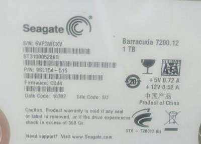 Placa Logica Hd Seagate