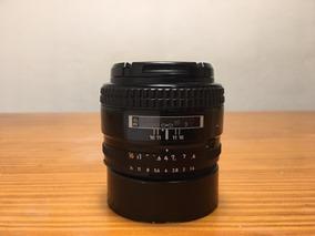 Lente Nikon 50mm 1.4d Com Parsol
