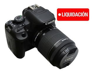 Camara Canon Eos Rebel T5¡ Efs 18-55mm
