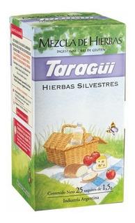 Té Taraguí Silvestre Mezcla Digestivas X25 Saq