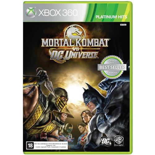 Mortal Kombat Vs Dc Universe Xbox 360 Original Mídia Física