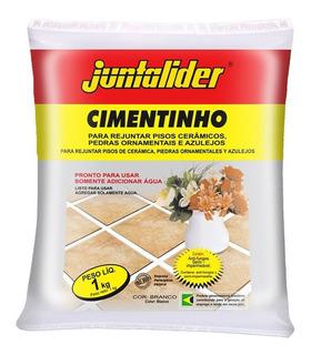 Kit 20 Cimentos Branco Estrutural Junt Saco 1kg - Juntalider