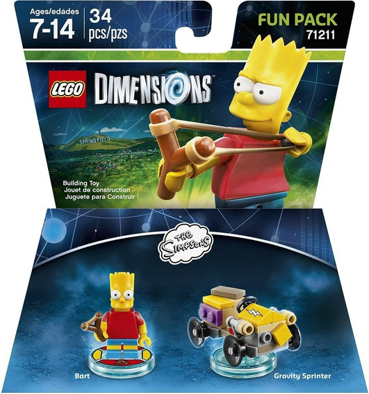 Lego Dimensions - Simpsons - Bart Fun Pack