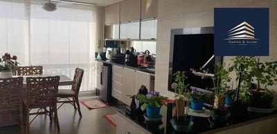 Apartamento No Solon Fernandes, 182m², 3 Suítes, 4 Vagas, Estuda Permuta. - Ap0683