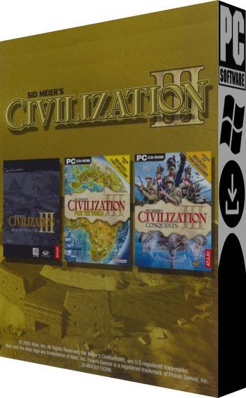Sid Meiers Civilization Iii Complete - Pc - Digital