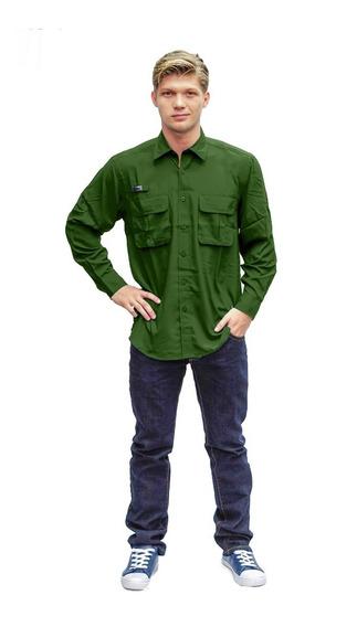 Camisas Caballeros Ke Manga Larga Ref: Cl11-27