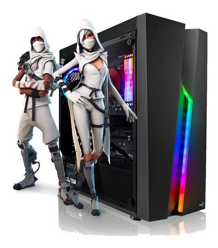 Imagen 1 de 2 de Pc Armada Gamer Amd Ryzen 7 5700g 32gb Nvme 500gb 80plus