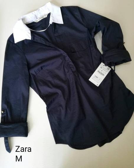 Zara 100% Original Pantalon Mujer M ( 12 Trump )
