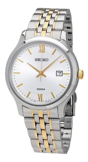 Reloj Seiko Sur223p1 Acero Plateado Para Caballero Original