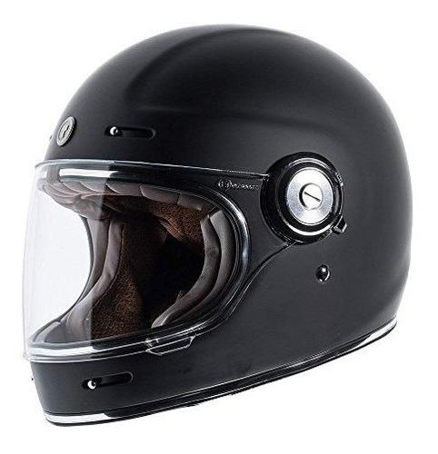 Imagen 1 de 6 de Torc T1 Retro Unisexadulto Fullfaceflor Estilo De Motociclet