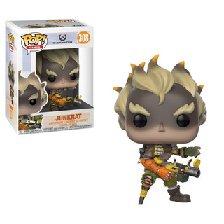 Funko Pop #308 Junkrat - Overwatch Blizzard - 100% Original