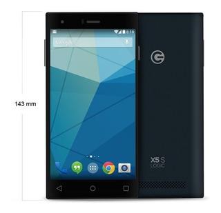 Logic X5s Android 4.4 Camara 8+1.3mpx Memoria 8+1gb Dual Sim
