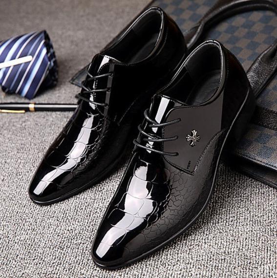 Zapatos Oxford Negros Hombre