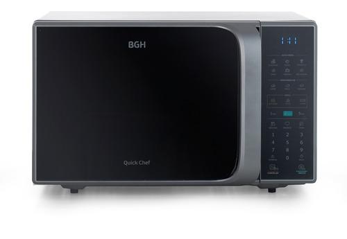 Imagen 1 de 8 de Microondas Bgh Quick Chef B120ds20 Silver 20 Litros 220v