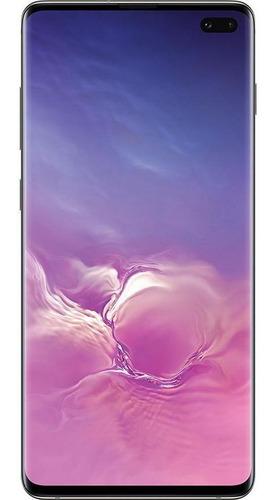 Imagem 1 de 4 de Usado: Samsung Galaxy S10+ 128gb Azul Muito Bom - Trocafone