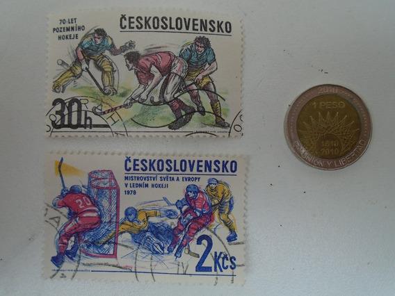 Estampilla Checoslovaquia Antigua