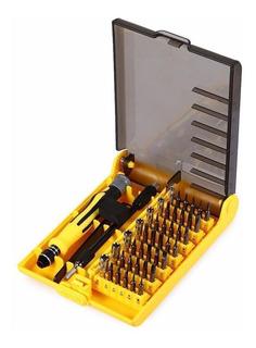 Kit De Chaves Com 45 Peças Para Manutenção Com Ímã P/iPhone