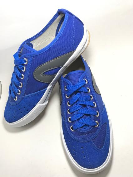 Tênis Rainha Vl 2500 Futsal, Volêi Azul / Cinza