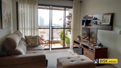 Apartamento Com 3 Dormitórios À Venda, 128 M² Por R$ 585.000,00 - Jardim Do Mar - São Bernardo Do Campo/sp - Ap1117