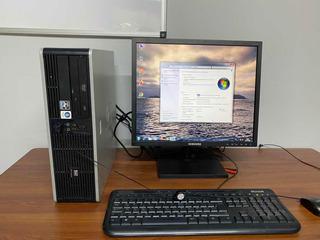 Pc Hp Amd Athon64 3800 3gb 500gb Monitor Led Envio Gratis