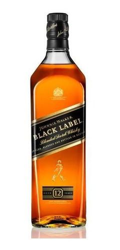 Whisky Johnnie Walker Black Label - 1l