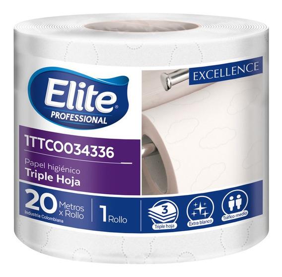 Papel Higienico Triple Hoja X 20 Metros- Paquete X 12 Rollos
