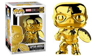 Captain America Funko Pop #377 Marvel Studios (10 Años)