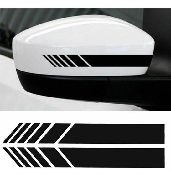 Adesivo Faixa Retrovisor Carro E Moto Tuning - Várias Cores