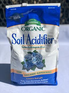 Abono Espoma Orgánico Para Hortensias Y Mora Azul 2.72 Kg